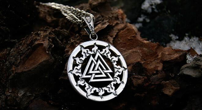 Валькнут как символ триединства