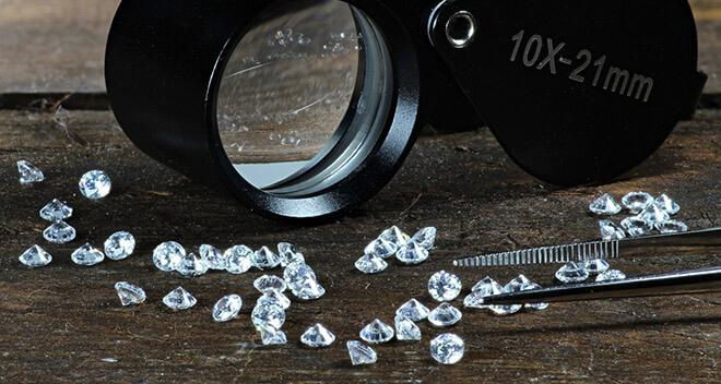 Стоимость одного карата алмаза на сегодня