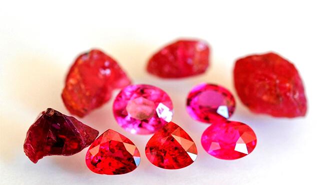 Особенности рубинов