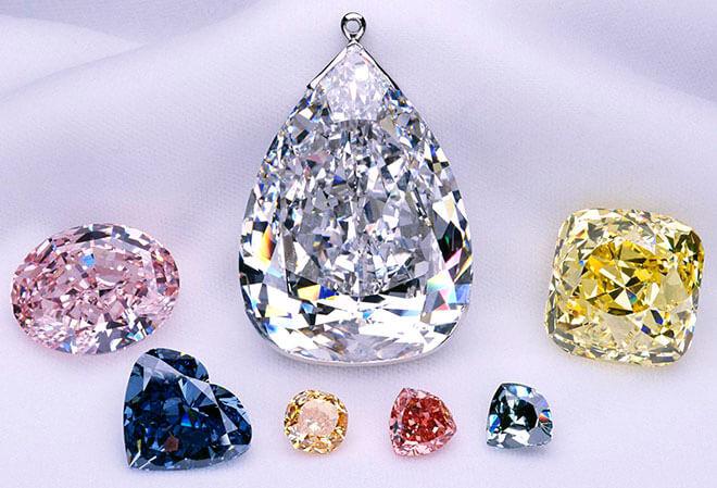 Топ самых больших и крупных бриллиантов в мире
