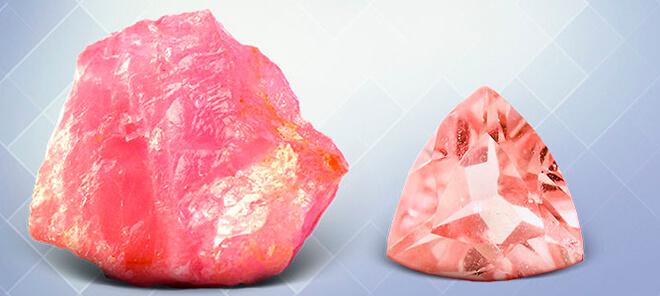 Обзор камней розового цвета: названия, свойства, популярные ювелирные украшения