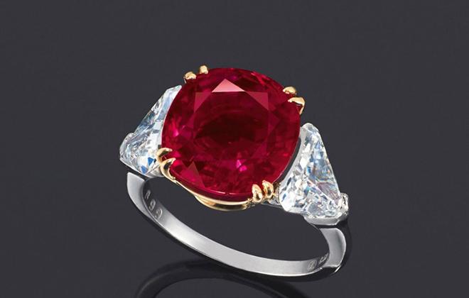 Кольцо с камнем по соннику