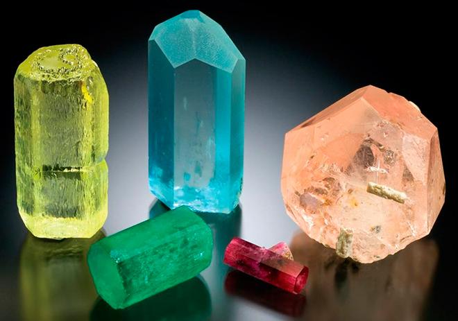 Подборка минералов