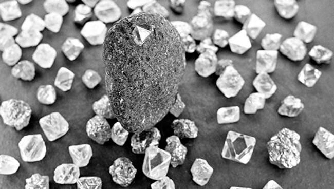 Состав алмаза