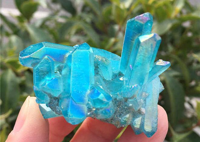 Голубые и синие драгоценные камни