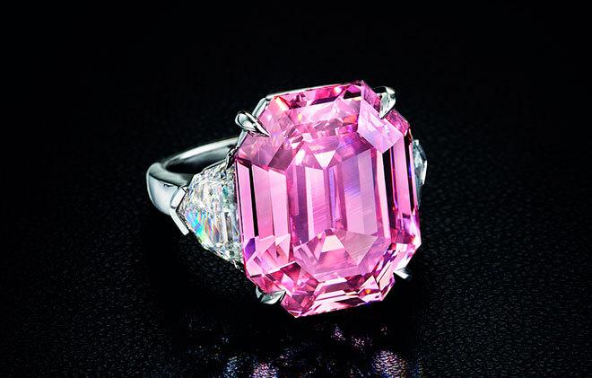 Бриллианты розового цвета