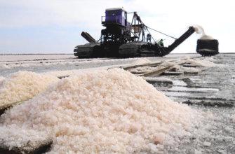 Где добывают соль