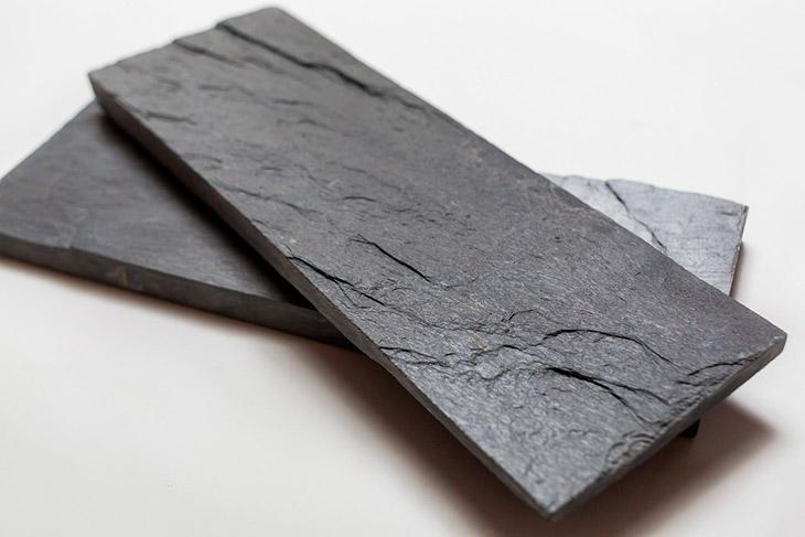 черный сланец камень