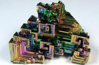 Кристаллы висмута