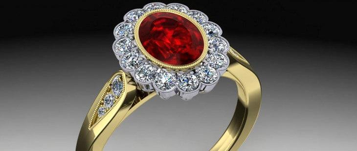 Рубин – описание камня