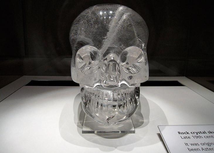 Как были найдены хрустальные черепа?