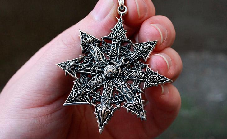 Символ под названием «Звезда Хаоса»
