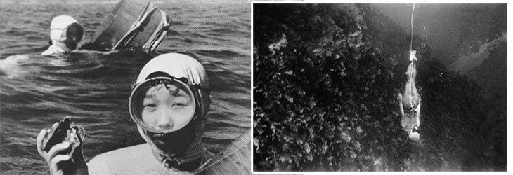 Самые известные в мире ныряльщики за жемчугом