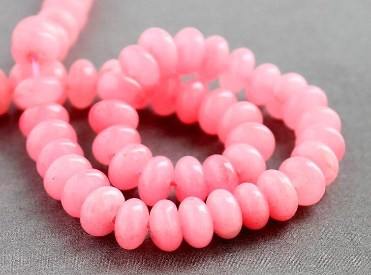 Розовый агат