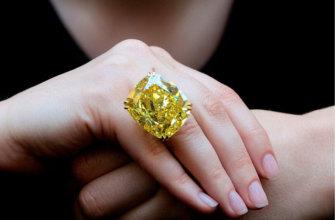 Cвойства желтого алмаза