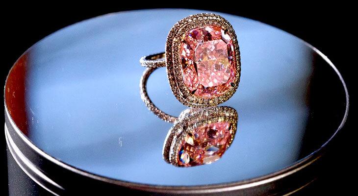 Интересные факты о розовых алмазах