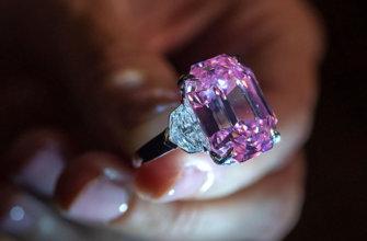 Тайна цвета розового бриллианта